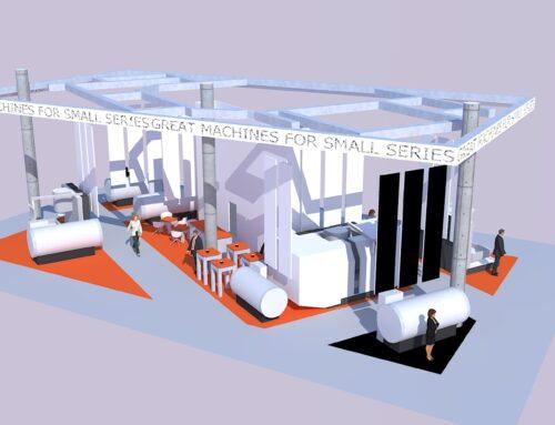 Standontwerp STYLE High Tech 2012