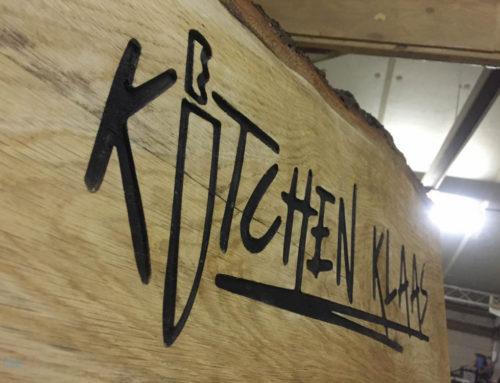 Logoplank Kitchen Klaas