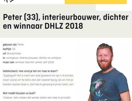 Interview in Hubo Magazine