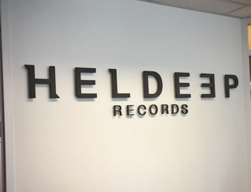 Logo wand Heldeep Records