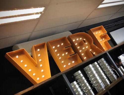 Lamp Letters Verfboertje