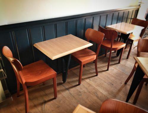 Tafels Café Halewijn
