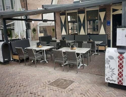 Loungebanken café De Kraplap