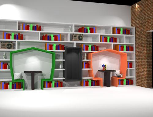 Leeswand Bibliotheek